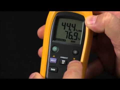 Como utilizar el medidor de humedad relativa y temperatura - Medidor de temperatura ...