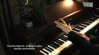 30k sub special 1 fatestay night ed1   anata ga ita mori piano