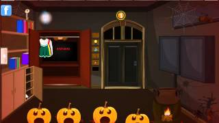 No Escape From Halloween Room Video Walkthrough