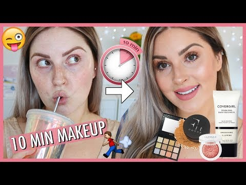 EASY 10 MINUTE MAKEUP 💣 My Everyday Makeup Routine!