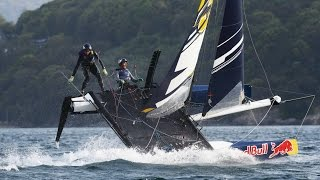Extreme Foil Racing in Japan - Red Bull Foiling Generation 2015