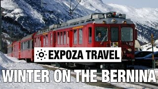 Winter on the Bernina (Switzerland) Vacation Travel Video Guide(Tight turns, breathtaking drops and magnificent views make the 61 kilometer rail link between St. Moritz and Tirano, originally opened in 1906, into one of the ..., 2016-05-11T11:14:57.000Z)