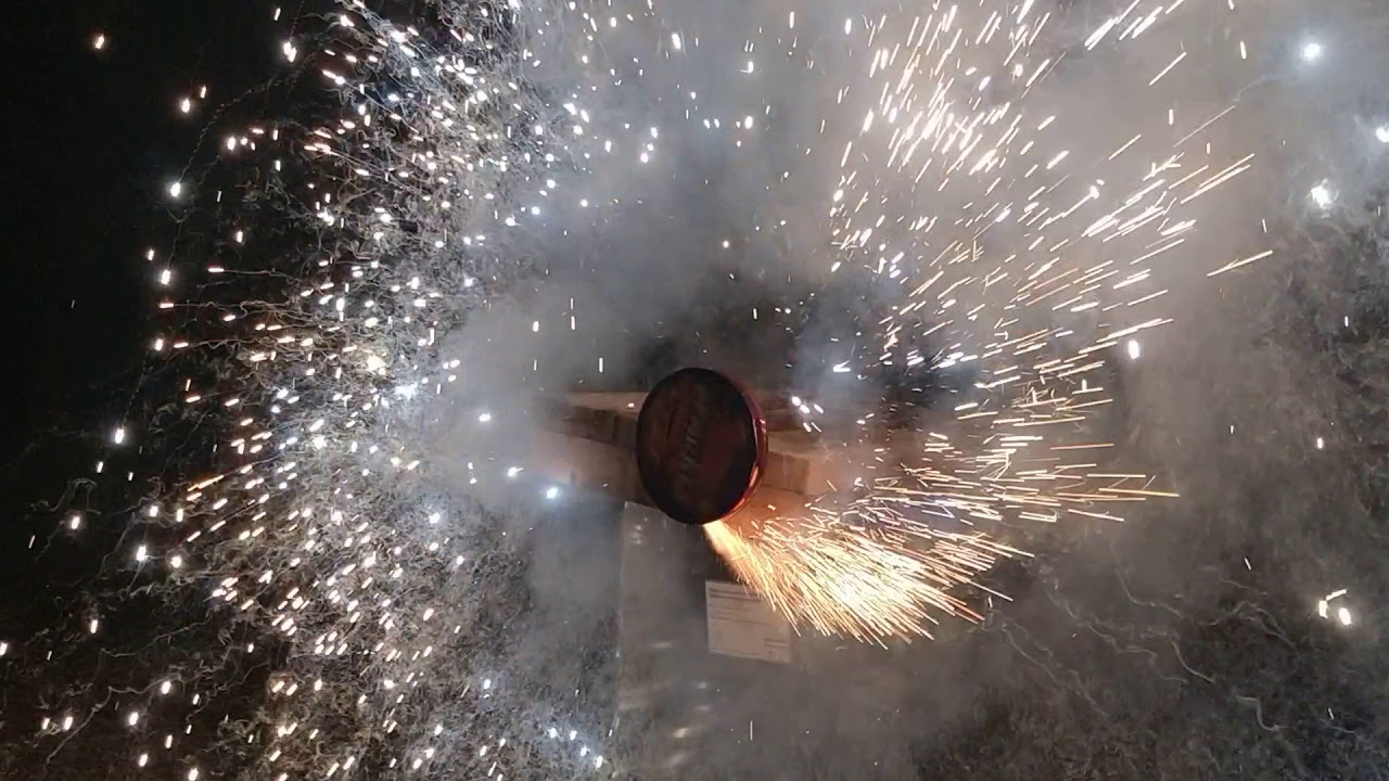 Six Foot Sparkle Pin Wheel by TNT Fireworks