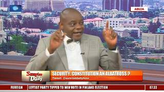 '1999 Constitution Is A Fraud', Lawyer Backs Calls For Amendment |Sunrise Daily|