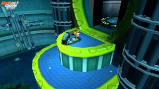 Ratchet & Clank 1 - Vuelta a recoger Guitones de Oro - Planetas Novalis y Rilgar - Parte 20 HD