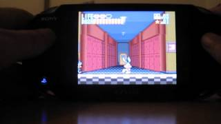 Snes9xTYL (Super NES emulator) running on PSVita 2.12