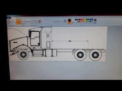 planos para camiones y máquinas a escala - YouTube