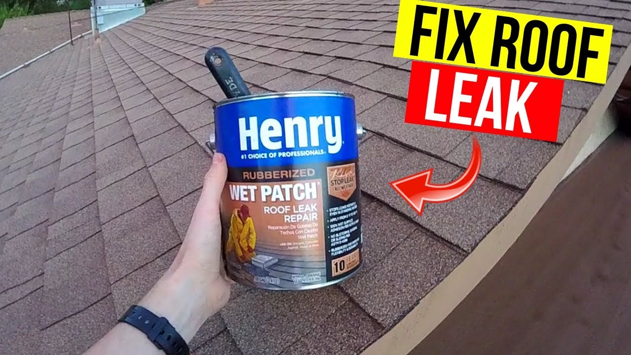 How To Fix A Roof Leak Asphalt Shingles Vent Pipes Flashing Skylights Jonny Diy