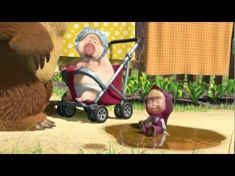 Маша и Медведь - Большая стирка (Мы едем-едем к Мишке)