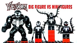LEGO Venom Big Figure vs Minifigures KnockOffs Spiderman