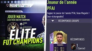 FIFA 18 - ON FINIT MON FUT CHAMPION + SBC AWARD WINNER DE MAGUIRE !
