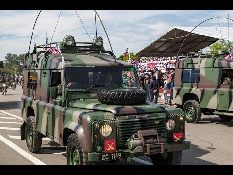Land Rover 110 Military Police Vehicle