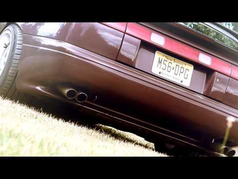 Subaru SVX Lucy Burping ::::: Launch Control / 2 Step