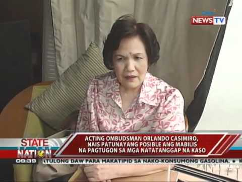 SONA -Sino kaya ang susunod na Ombudsman? 5/23/11