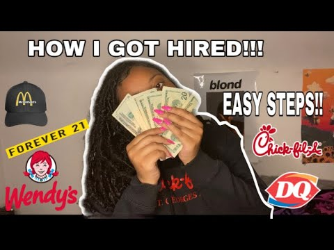 Download HOW TO GET a job as a teen + interviewing tips! GET HIRED ON THE SPOT