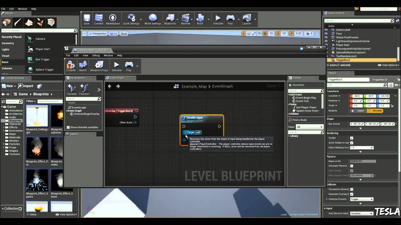 Unreal engine 4 tutorial disableenable input youtube unreal engine 4 tutorial disableenable input malvernweather Gallery