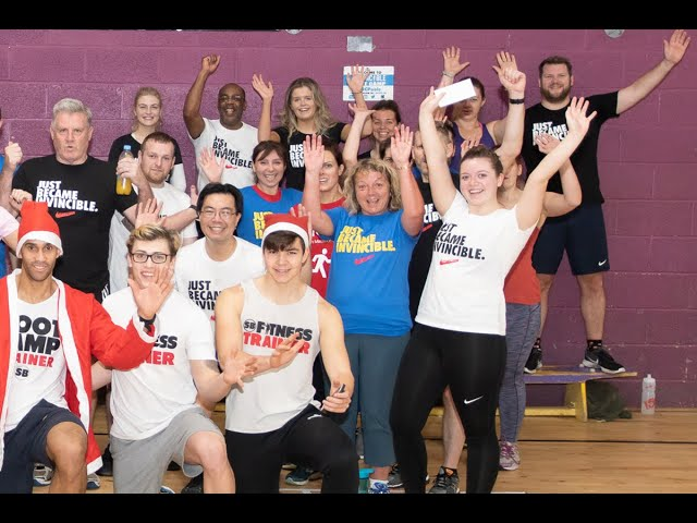 SB Fitness  - The Bartlett's Testimonial IBC18
