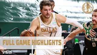 Luka Doncic (28 points, 13 assists) Highlights vs. Milwaukee Bucks