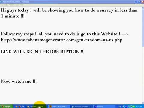 How To Do A Survey In 30 Seconds !