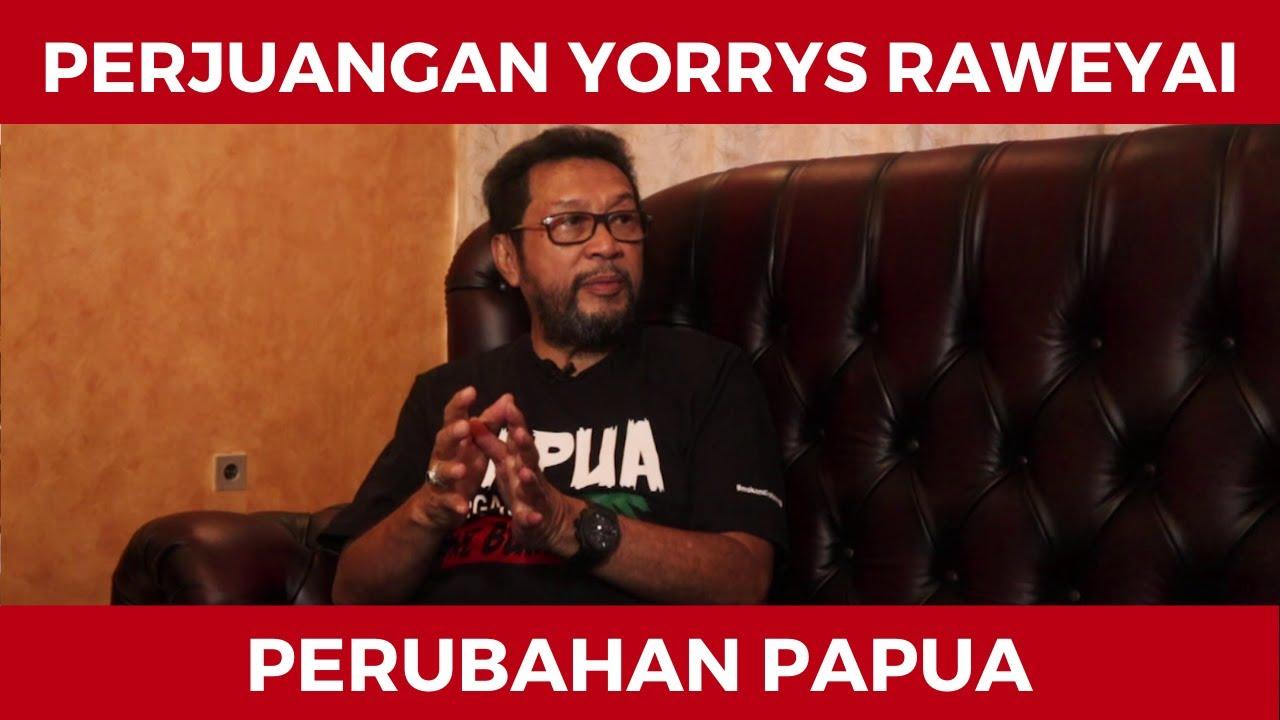 Perjuangan Yorrys Raweyai Membawa Perubahan Papua Melalui DPD RI