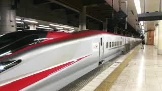 東北新幹線 やまびこ213号 仙台行き E6系とE5系 2018.01.13