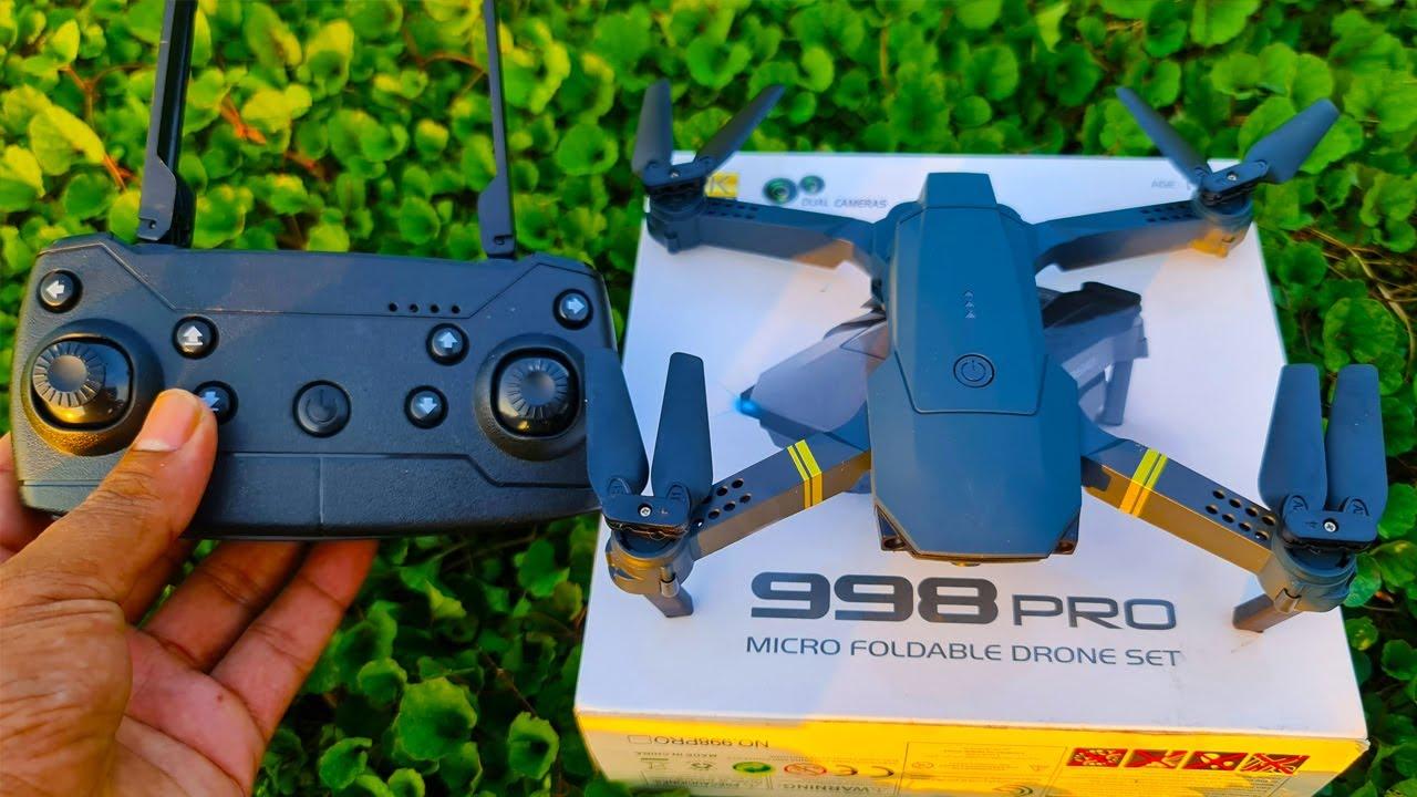 এই প্রথম এত কদামে 998 Pro 4K ড্রোন, যা আগে কিনতে পারেন নাই || 998 Pro 4K Drone Fly & video Test