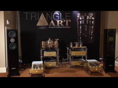 TriangleArt Reference Tube Amplifier, preamplifier and phono stage
