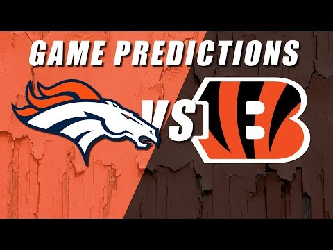 Denver Broncos vs Cincinnati Bengals Predictions