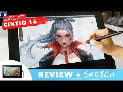 Wacom Cintiq 16 Review + SKETCH!