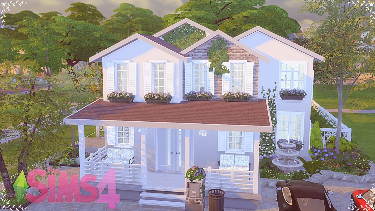 The Sims 4 Speed Build Comfortable House Youtube