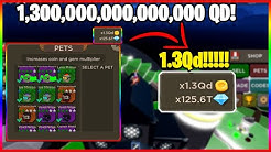 I WAS *GIVEN* OP PETS IN BLADE THROWING SIMULATOR! OVER 1QD (1,000,000,000,000,000)  MULTIPLIER! OP!