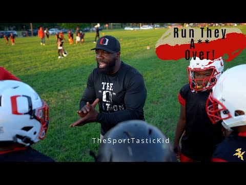 San Antonio Outlaws first summer full contact practice, Hitting Drills, (Smash Mouth Football)