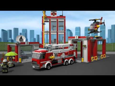 Fire Station - LEGO CITY - 60110 - Product Animation