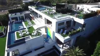 Teuerstes Haus Der Welt 250 Millionen Bel Air größter Pool TV der Welt expansive House