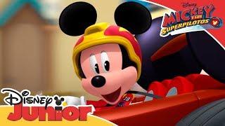 Mickey y los Superpilotos: Momentos Mágicos - Donald en el Equipo| Disney Junior Oficial