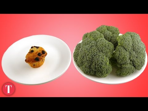 Thumbnail: This Is What 200 Calories Look Like: Junk vs. Healthy Food