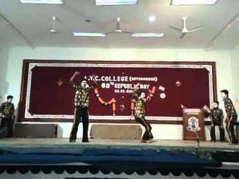 Tamil skit in A v c college