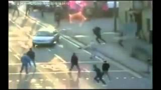 Football Hooligans -- Millwall v Huddersfield !