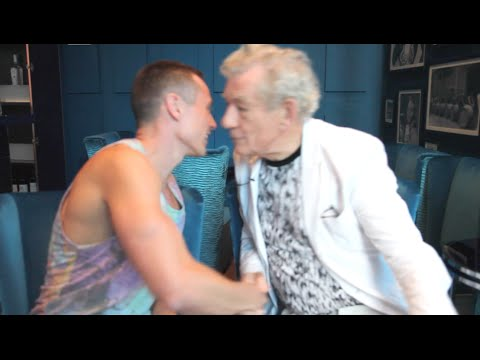 Sir Ian McKellen & Davey Wavey's Gay Collab!
