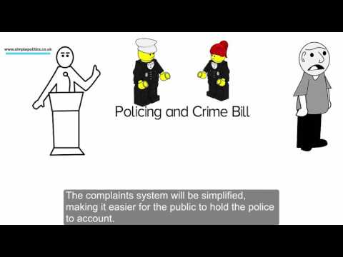 The Simple Politics Guide to: The Policing and Crime Bill