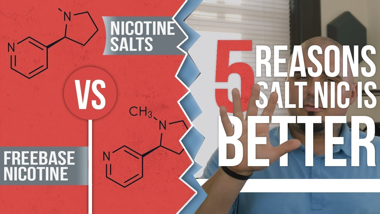 SALT Nicotine VS Normal Nicotine Freebase  Which is Better?