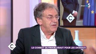 Le combat de Finkielkraut pour les animaux - C à Vous - 05/09/2018