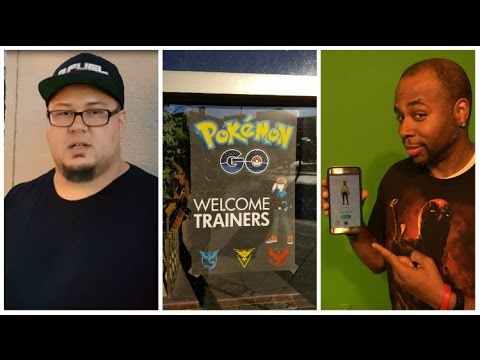 Pokemon GO Craze Invades Downtown Casper