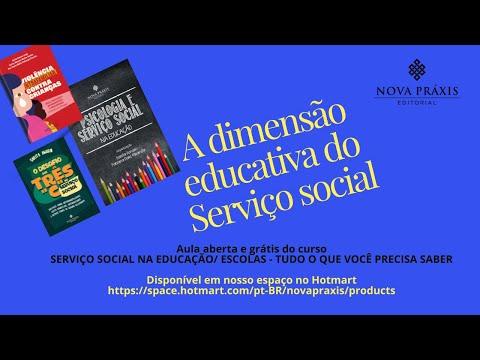 A DIMENSAO EDUCATIVA DO TRABALHO DO SERVIÇO SOCIAL