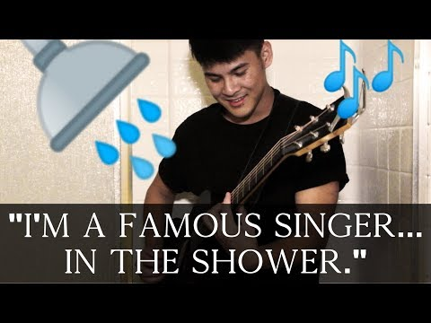 Why do you sing better in the shower?