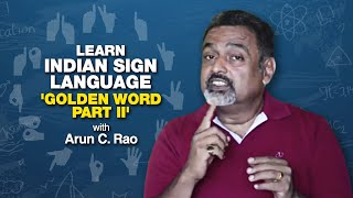 "Learn Indian Sign language ""BASIC 25 WORDS"" Part II"