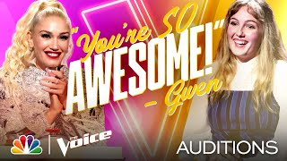 "Lauren Frihauf Delivers on Melissa Etheridge's ""Come to My Window"" - The Voice Blind Auditions 2020"