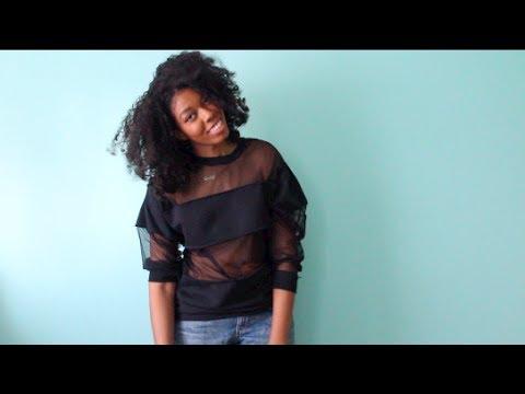 DIY Sheer Mesh Panel Shirt (Concept)YouTube