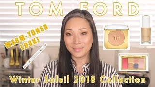 TOM FORD Winter Soleil 2018 Collection - Warm Look