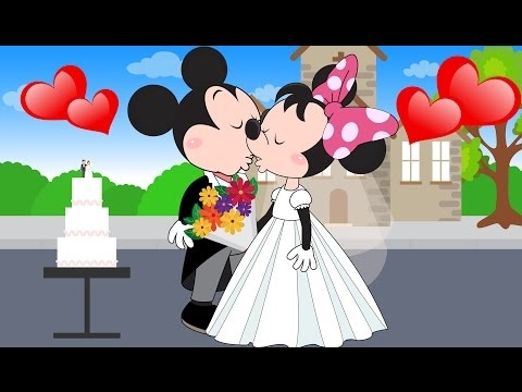 ⒽMickey Mouse and Minnie Mouse Wedding Full Episodes! Donald Duck ...